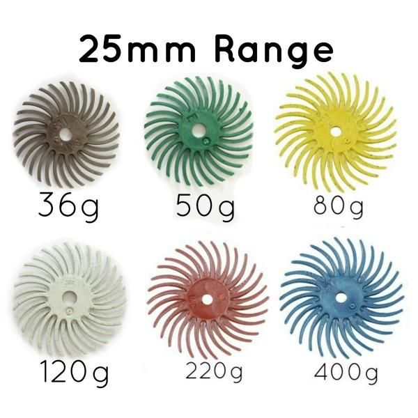 25mm radials