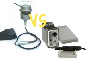 Pendant Motor vs Micromotor System