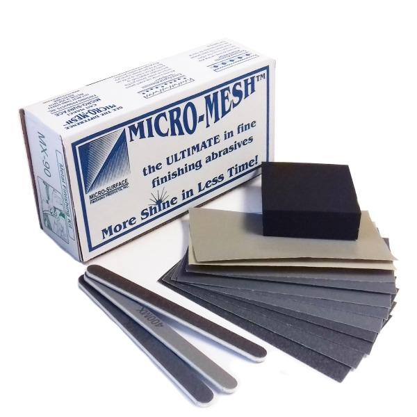 Metal Polishing Kit Micro Mesh Mx 90 Polishing Jewellery