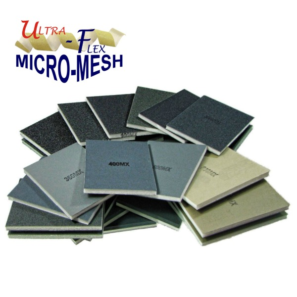Micro-Mesh metal finishing pads