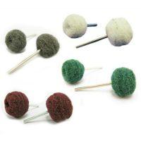 Small Abrasive Nylon Buffing Balls