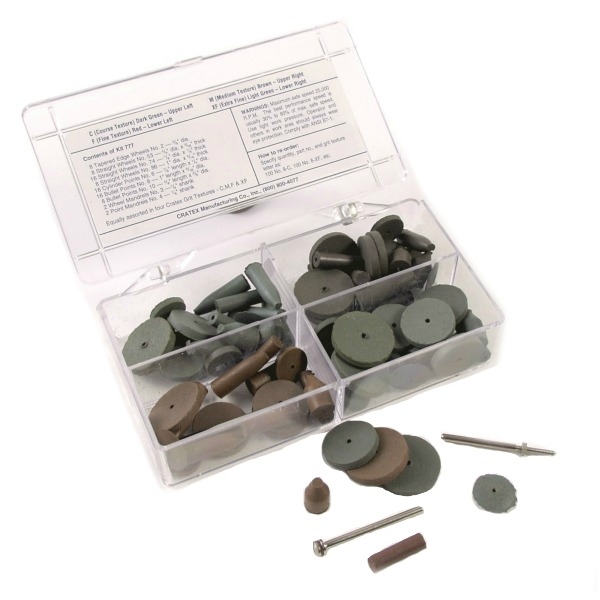 Cratex Wheel & Point Kit