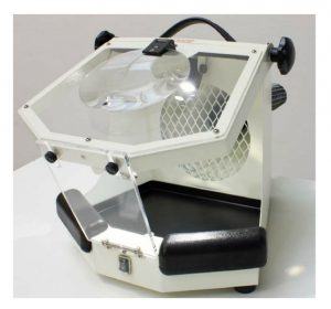 Lighted Work Unit with Magnifying Glass- MALC15-21