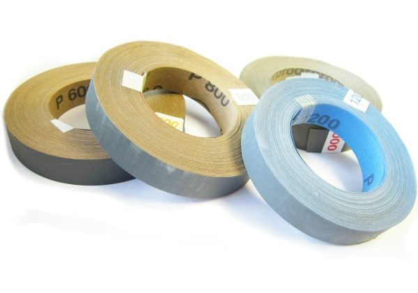 Wet and Dry Abrasive Rolls